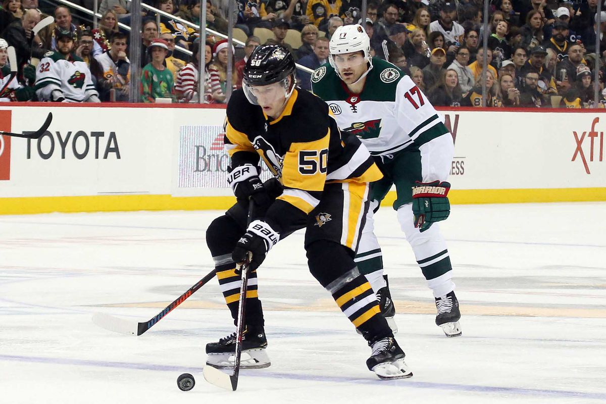 NHL: Minnesota Wild at Pittsburgh Penguins