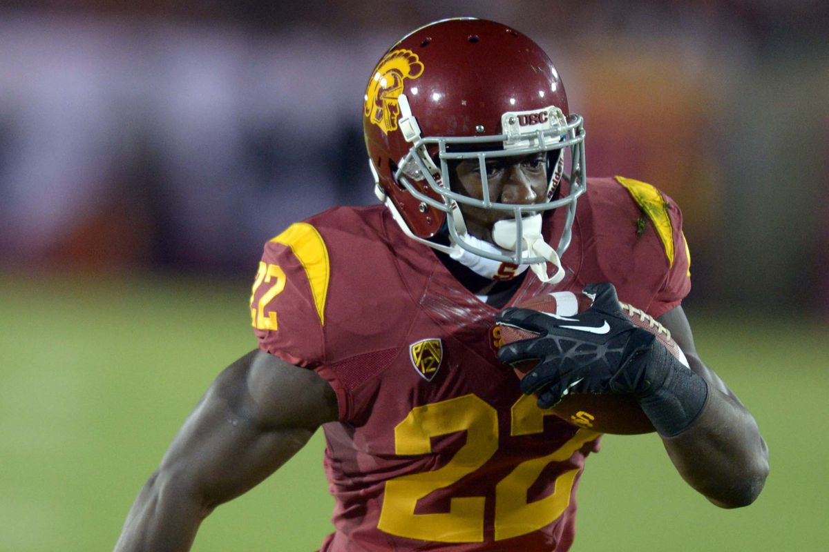 Watch out for Justin Davis in the Trojans' crowded backfield.
