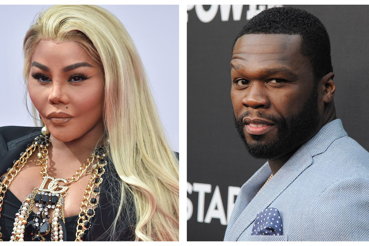 Lil Kim and 50 Cent