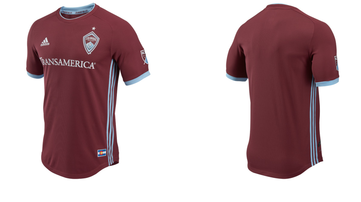 new concept 74072 fa88e Rapids reveal new 2018 home kit - Burgundy Wave
