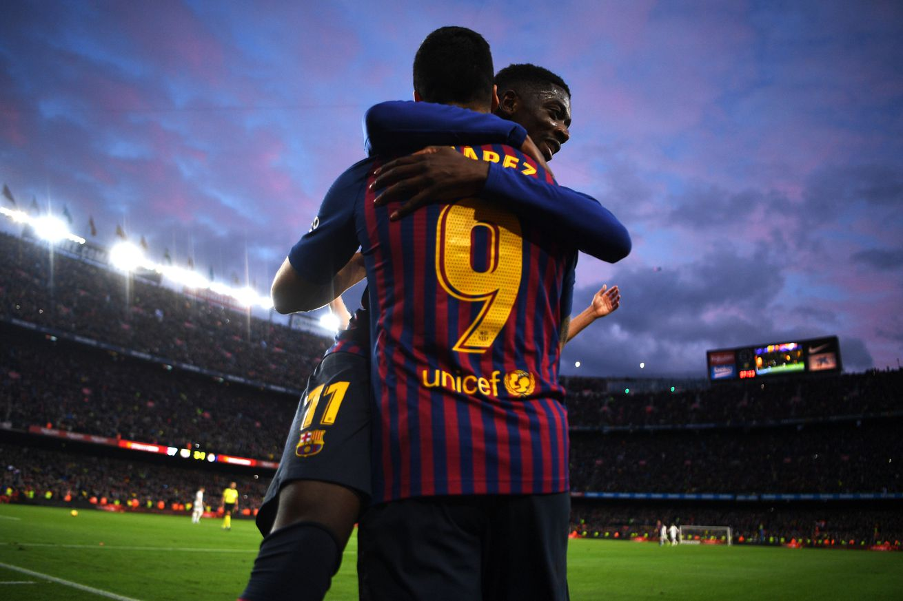 Suarez says Dembele must focus and be more responsible
