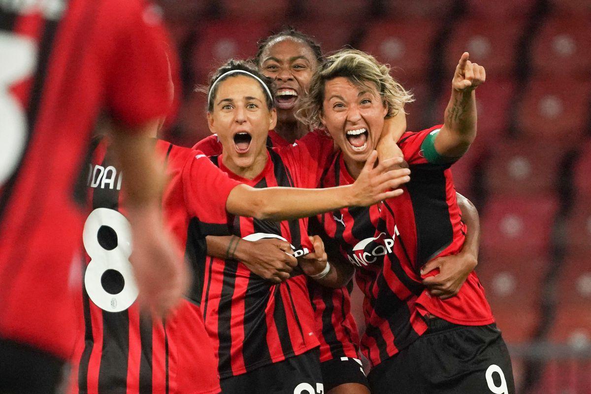 Zurich v AC Milan: UEFA Women's Champions League - League Path Group 1 Semi-Final
