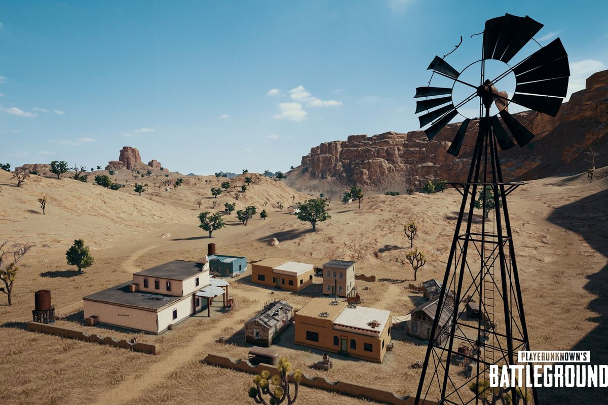 No Pubg Wallpaper: PUBG's Desert Map Update Adds New UI, Vaulting And More