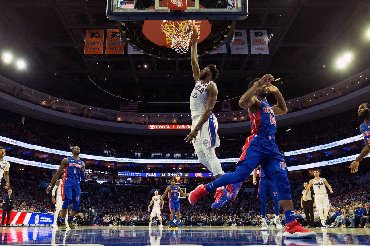 Pistons vs Sixers final score: Detroit unable to close second-half