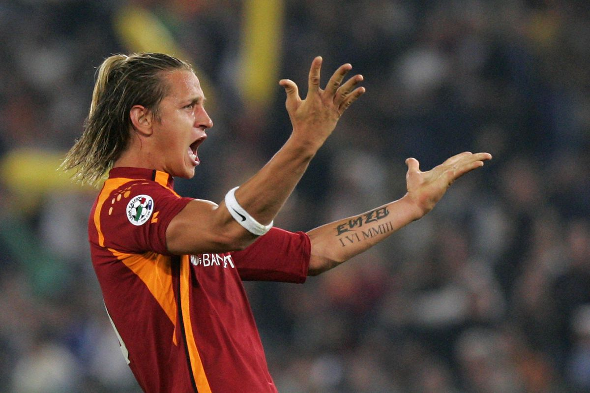 AS Roma's defender Philippe Mexes of Fra