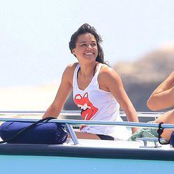 Michelle Rodriguez in Formentera