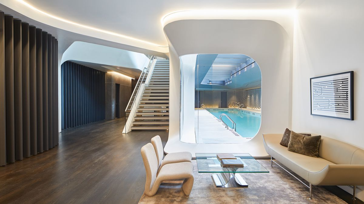 Get a peek inside Zaha Hadid's futuristic High Line condo ... on New Get Design  id=51858