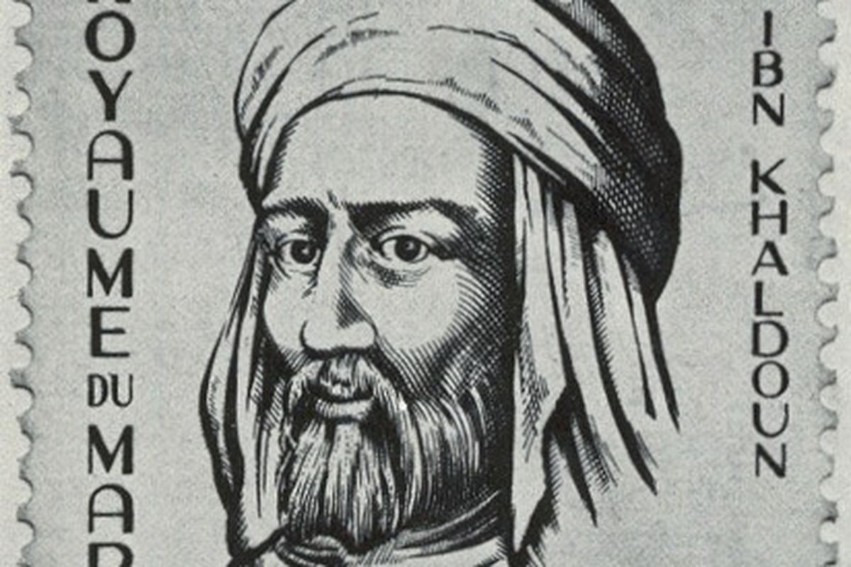 Ibn Khaldun did not have any special ability to prevent hits on balls put in play against him, yet they still put him on a stamp. (via Wikimedia Commons)