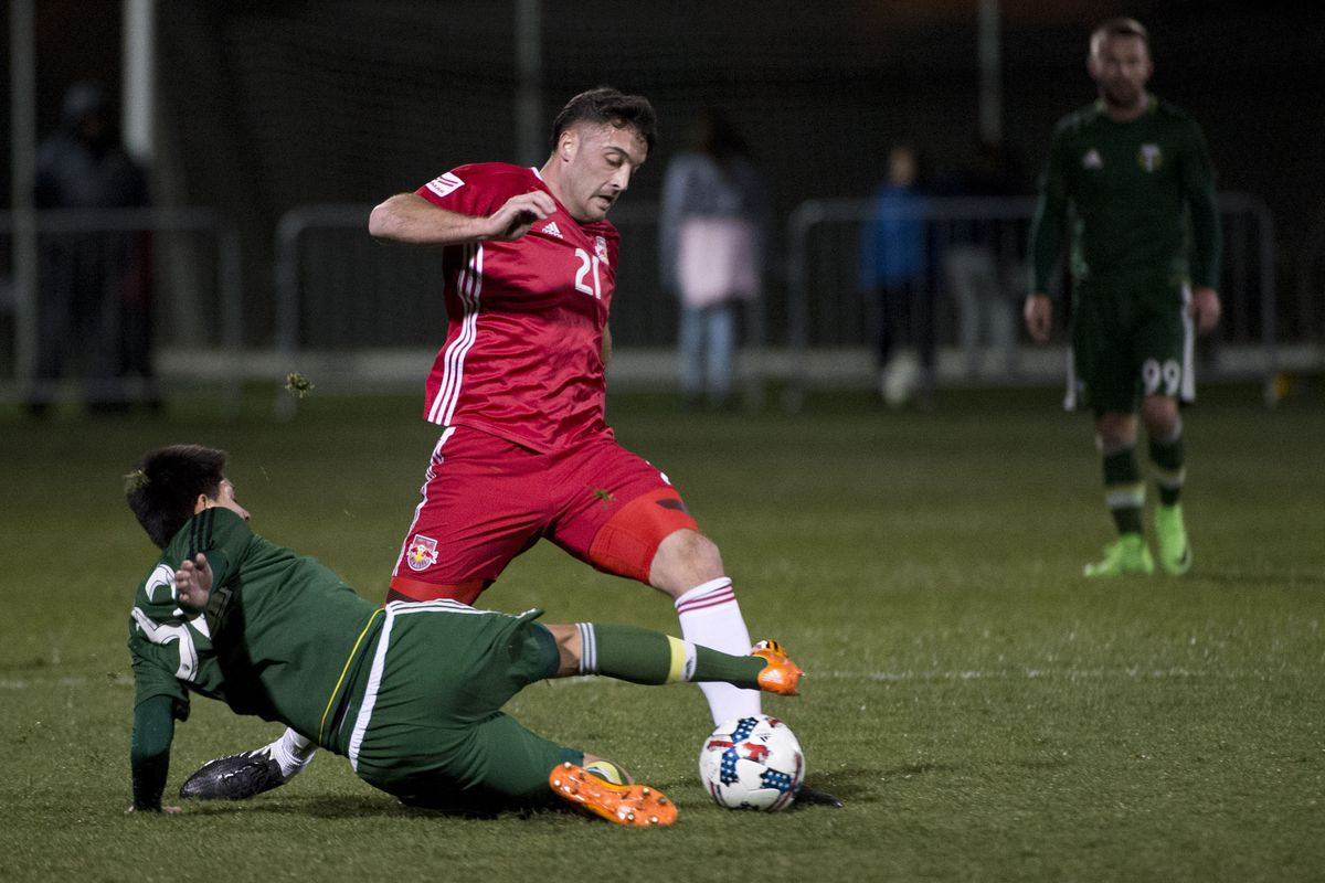 MLS: Portland Timbers vs New York Red Bulls