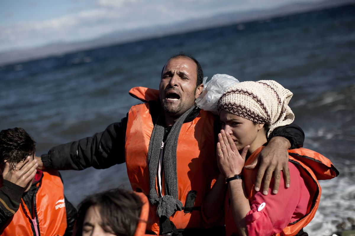 """These migrants made it to Greek shores. Others weren't so """"lucky."""""""