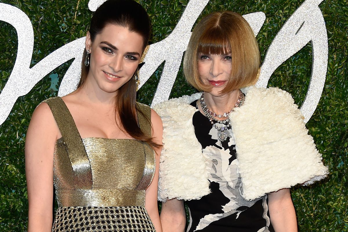 Anna Wintour and her daughter, Bee Schafer. Photo: Getty Images