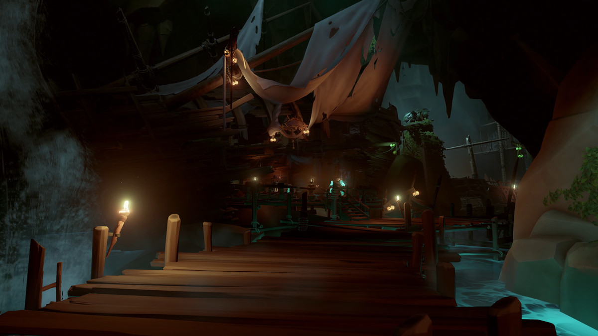 Sea Of Thieves Is Huge Fun And Just What The Xbox One Needs Ship Diagram With Labels Google Search Pirates Pirate Ships Secret Hideout
