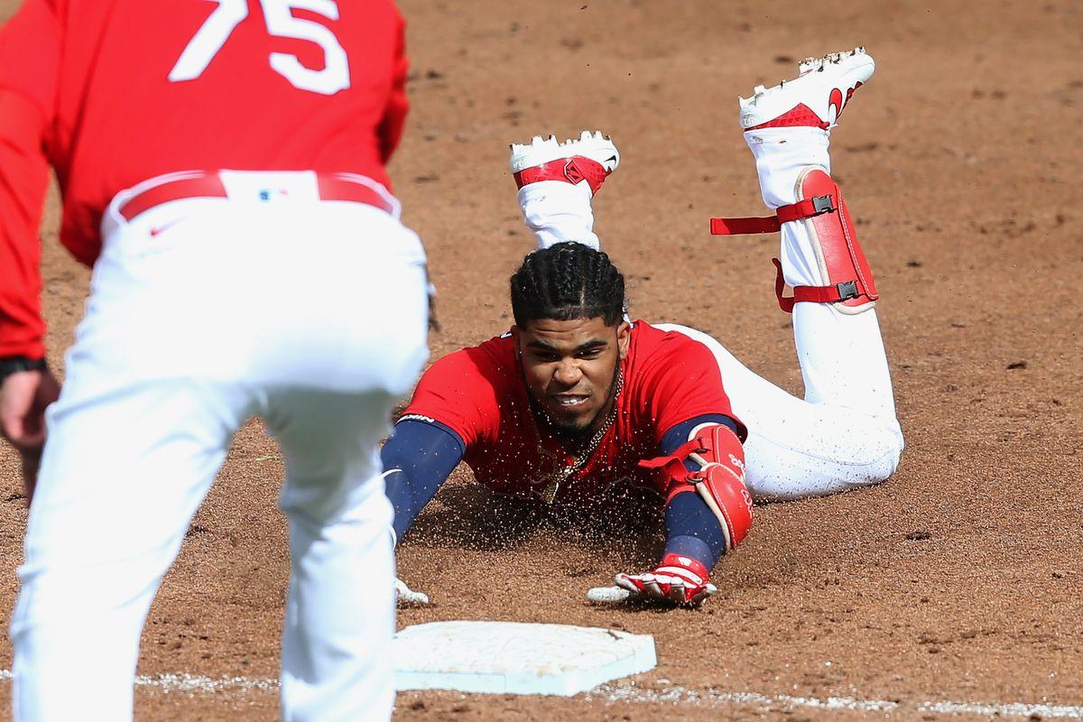 MLB: MAR 08 Spring Training - Marlins at Cardinals
