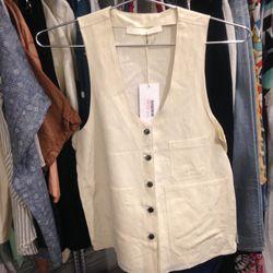 Creatures of Comfort vest, $140 (was $350)