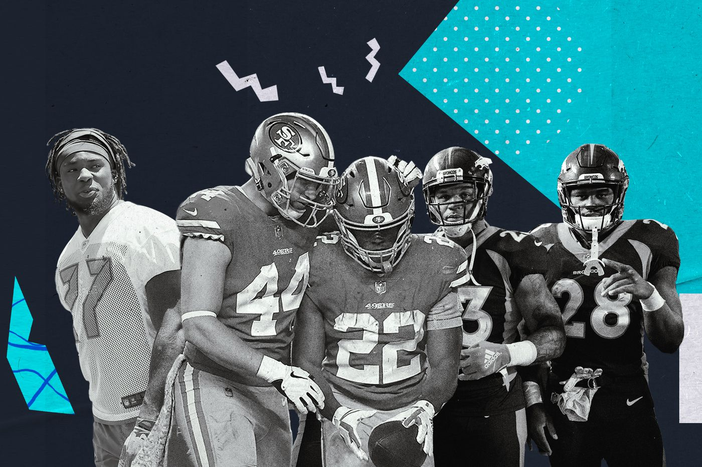 online retailer 263d5 3d529 NFL's best and worst running back groups in 2019, ranked ...