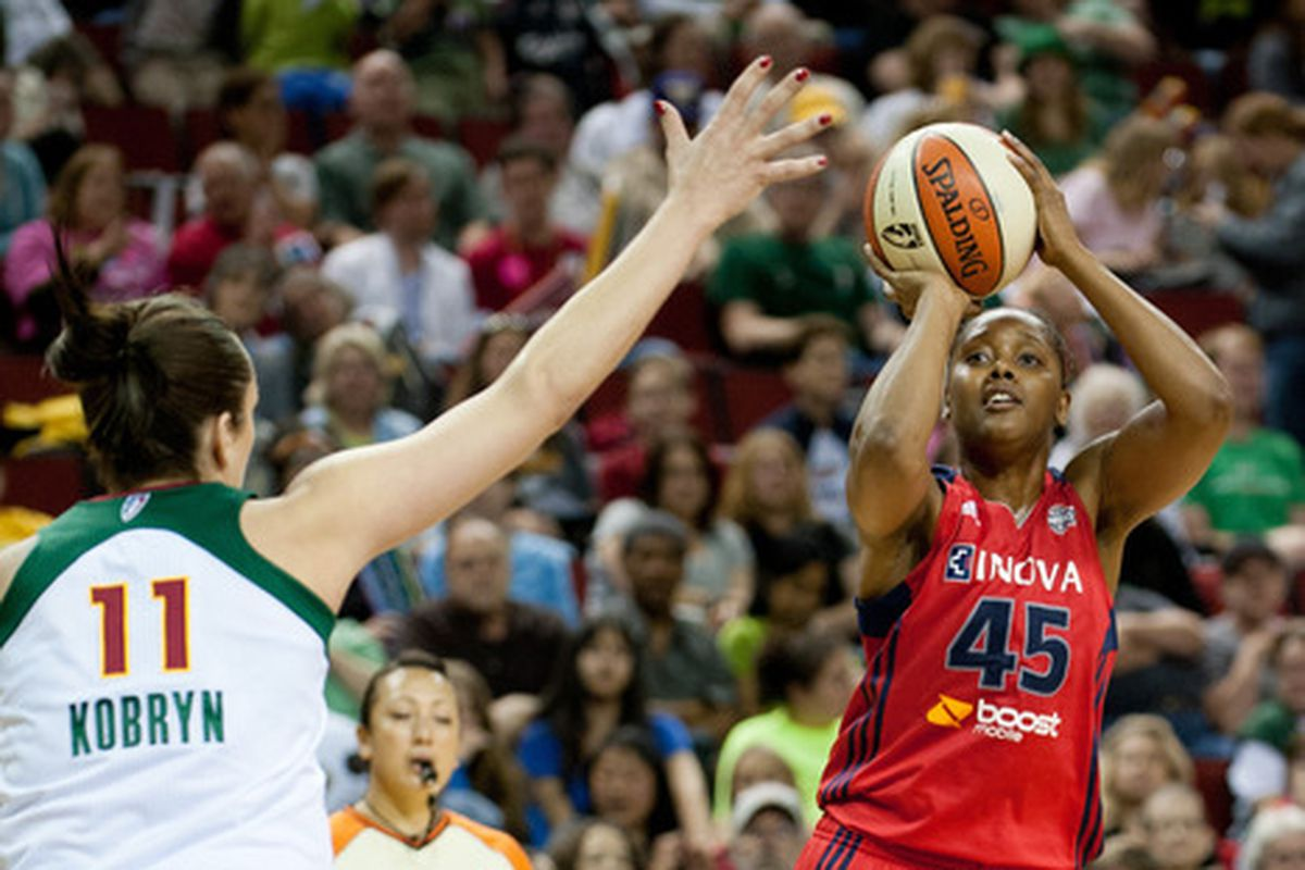Noelle Quinn was one of the Mystics' brighter points from 2012, and she's one of their unrestricted free agents.