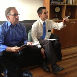 Meet the Mormons writer and director, Blair Treu, meets with David Archuleta, the LDS artist whose music is featured in the documentary. Archuleta's soundtrack was recorded while he was serving as an LDS missionary.
