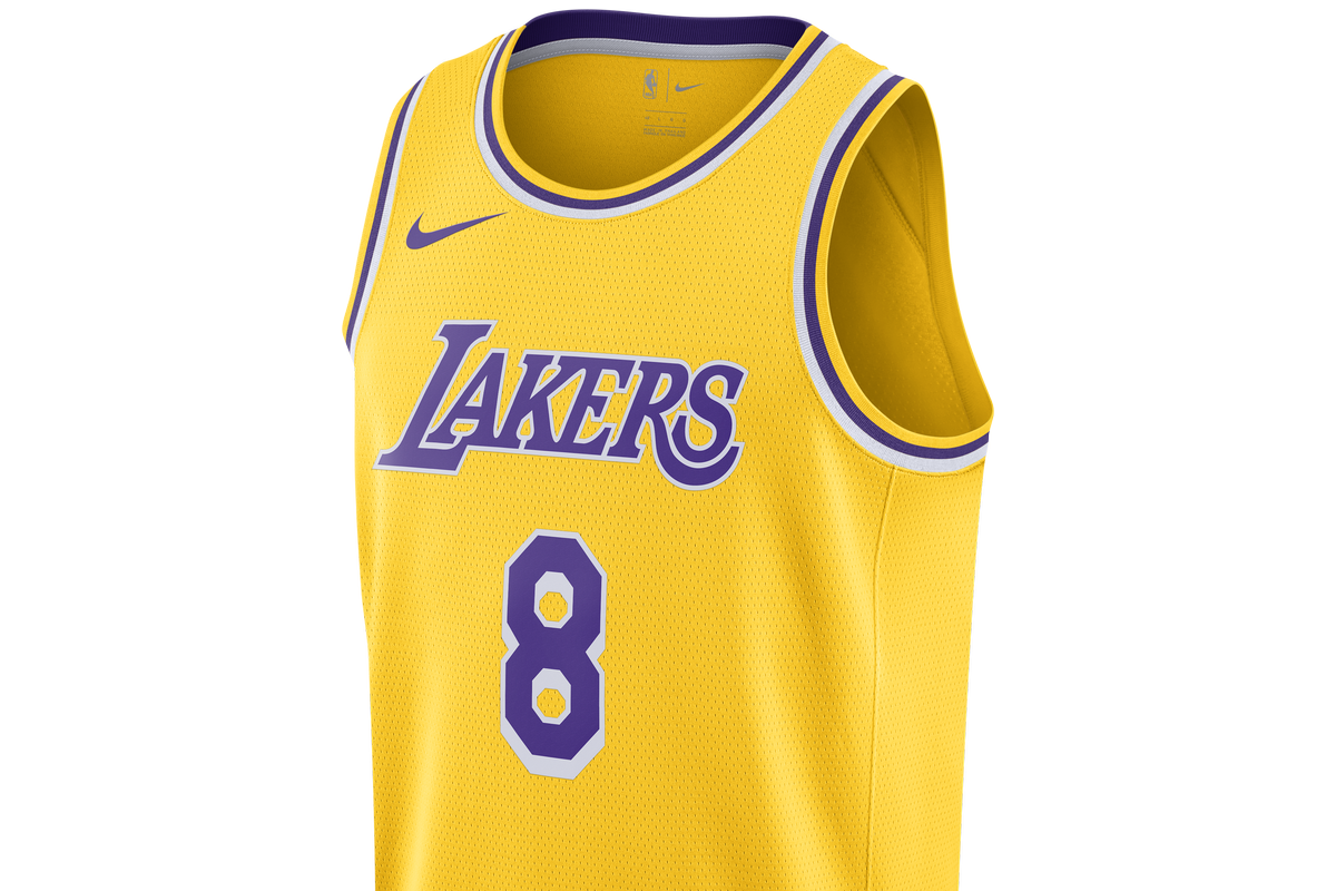 ecc10c188 Lakers fans can celebrate  Kobe Bryant Day  with a new Nike jersey ...