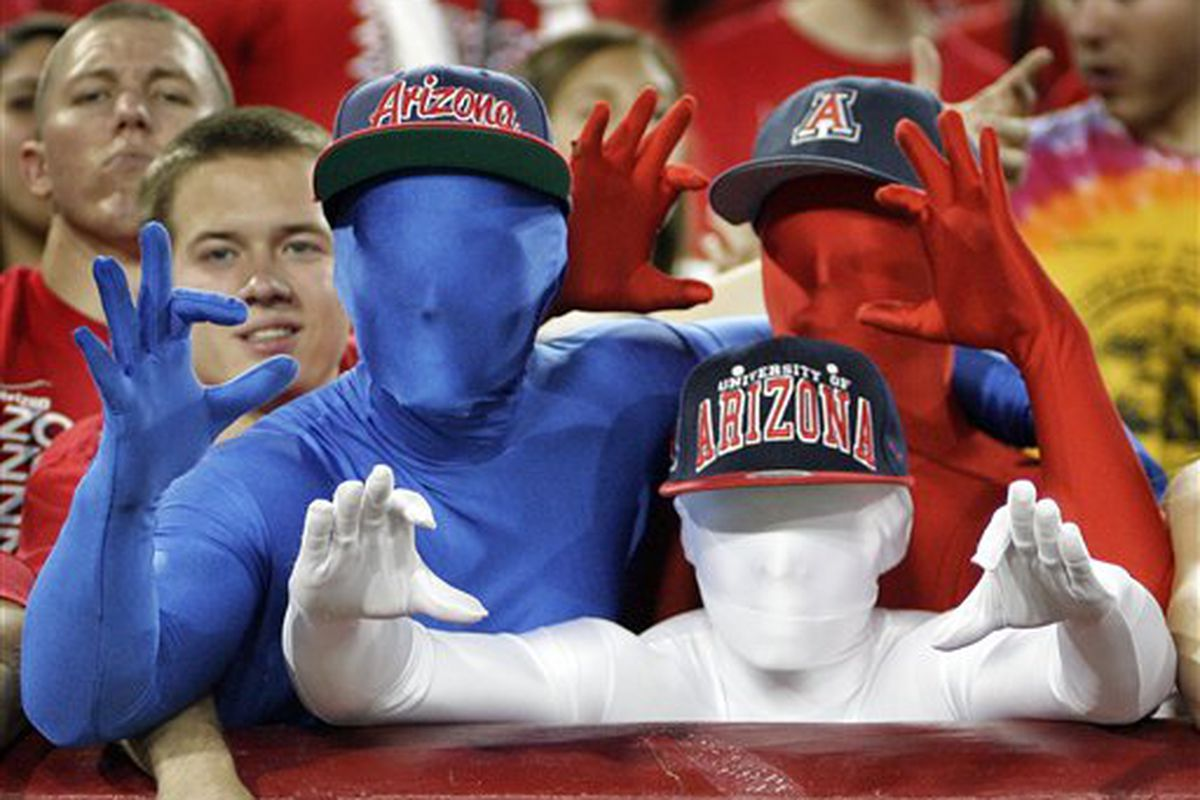 Oregon St. welcomes in the Arizona, and the Red White and Blue of the 'Zona Zoo this Saturday.