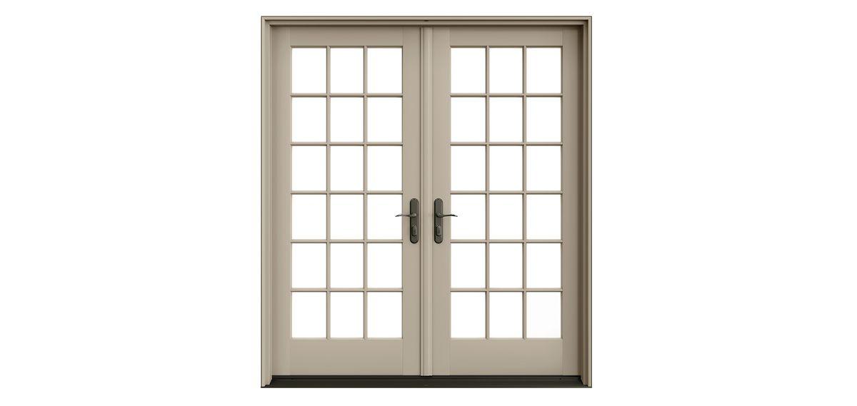 Proline 450 Series Patio Doors, Prehung Pair By Pella