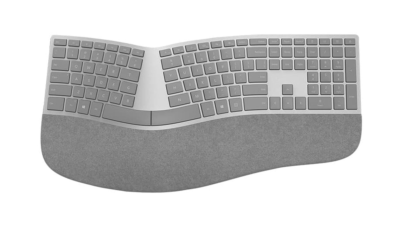 Microsoft's awesome ergonomic keyboard finally works over