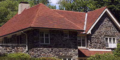 Hip-style Roof On A House