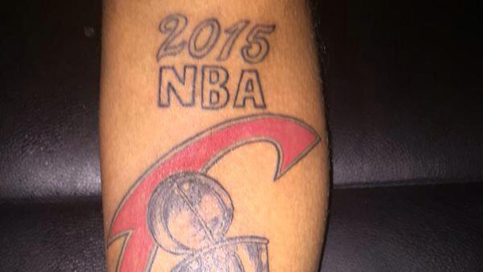 Someone got a Cavaliers championship tattoo before the NBA Finals even started - SBNation.com