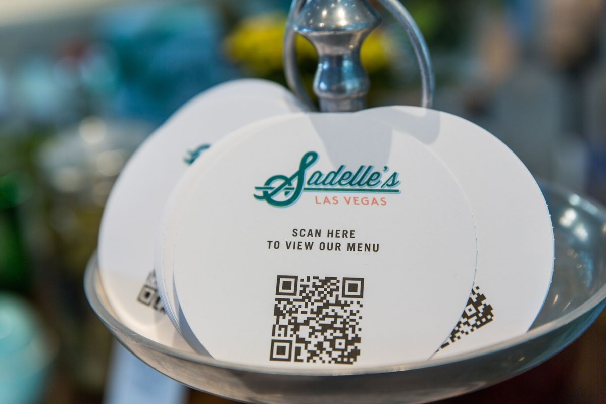 Celebrity Dining: QR codes at Sadelle's