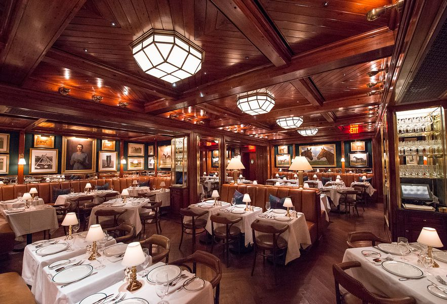 ralph lauren 39 s polo bar lets ordinary folk feel like the landed gentry for an evening eater ny. Black Bedroom Furniture Sets. Home Design Ideas