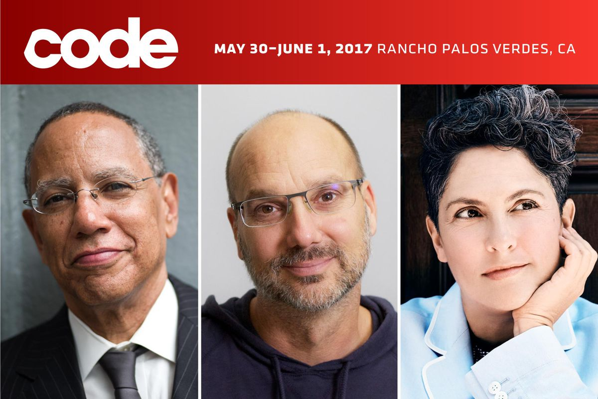 Image of New York Times' Dean Baquet, Playground's Andy Rubin and Transparent's Jill Soloway