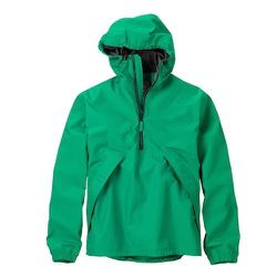 """<strong>Timberland</strong> Half-Zip Waterproof Anorak Bomber in Emerald, <a href=""""http://shop.timberland.com/product/index.jsp?c=1143450&productId=20711866"""">$98</a>"""