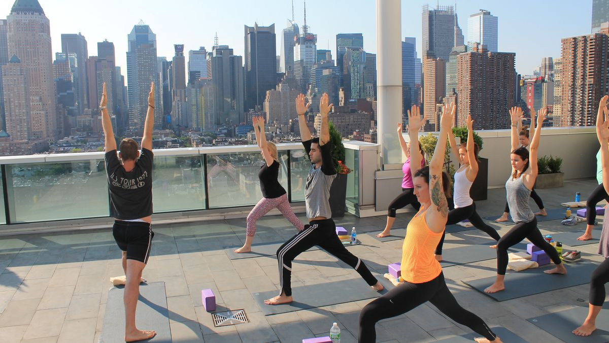 This Company Is Making NYC Rooftops The New Yoga Studios