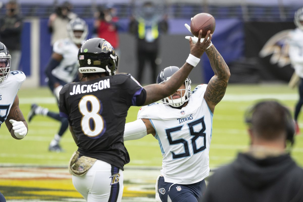 NFL: Tennessee Titans at Baltimore Ravens