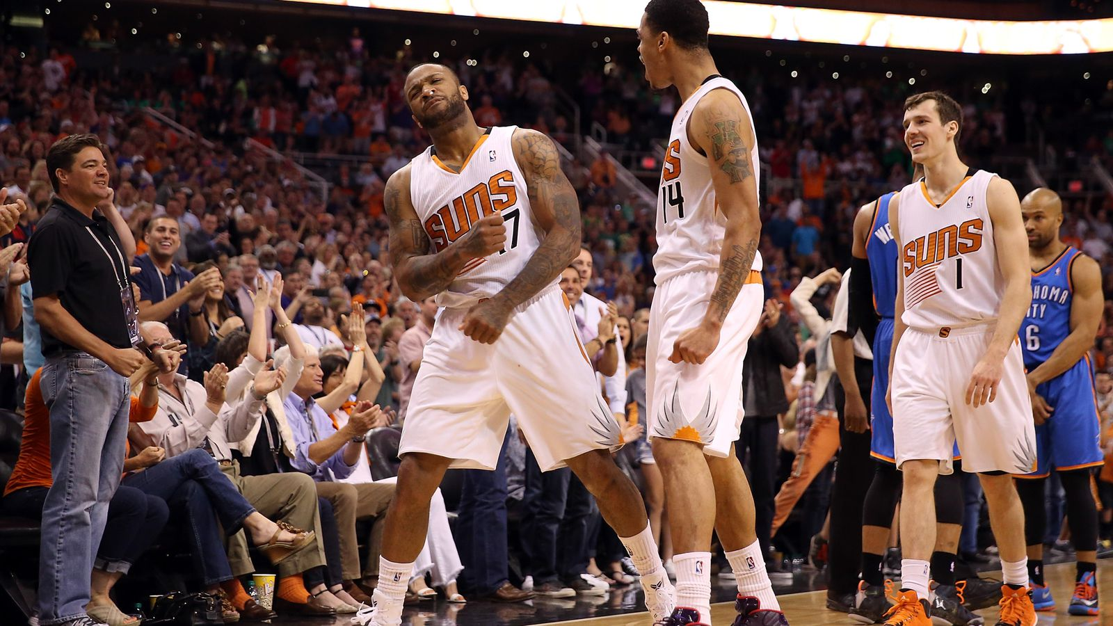 Suns are hotter than Dallas or Memphis