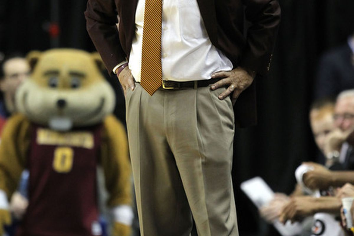 Head coach Tubby Smith of the Minnesota Golden Gophers.  (Photo by Andy Lyons/Getty Images)