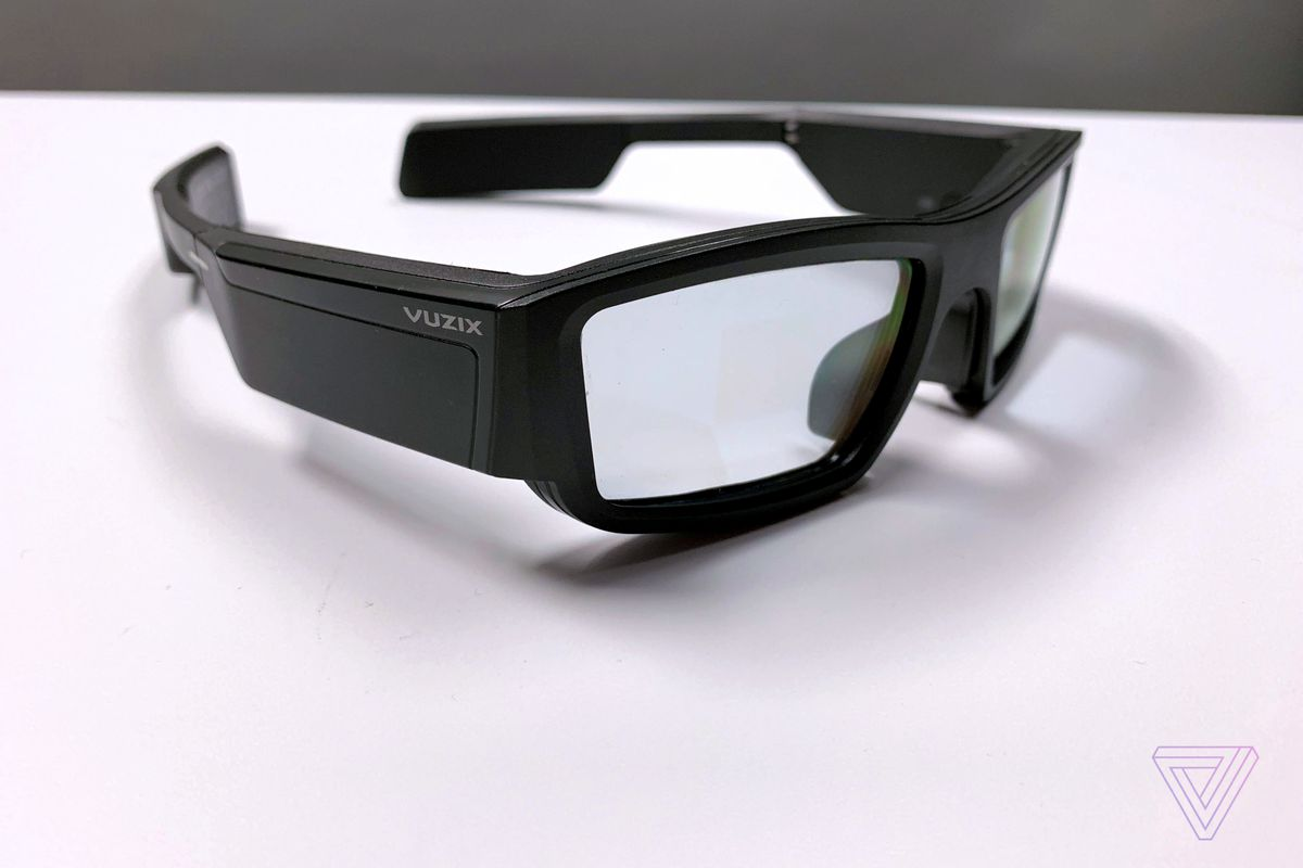 e3c61146c5221b Vuzix starts selling its AR smart glasses for $1,000 - The Verge