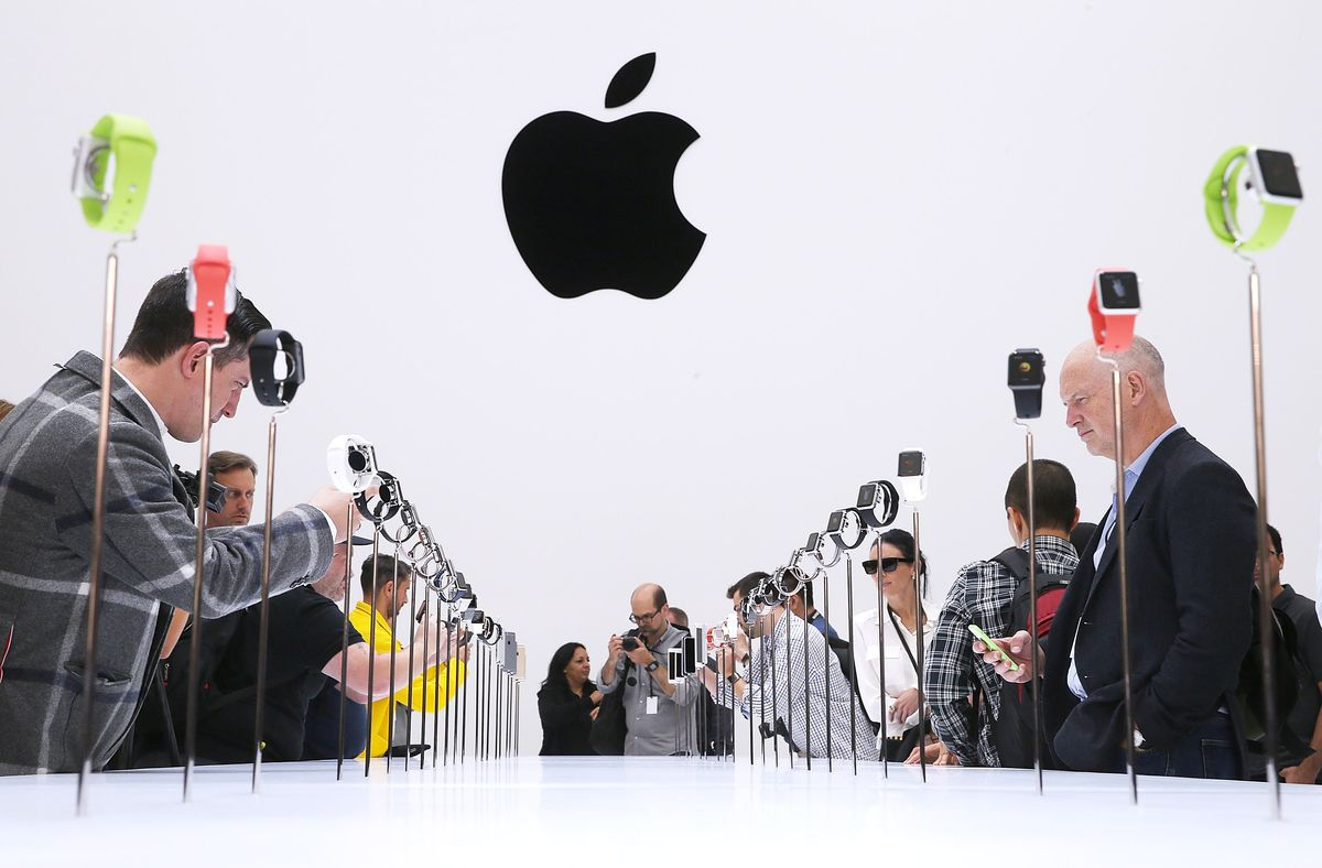 Apple watch displays