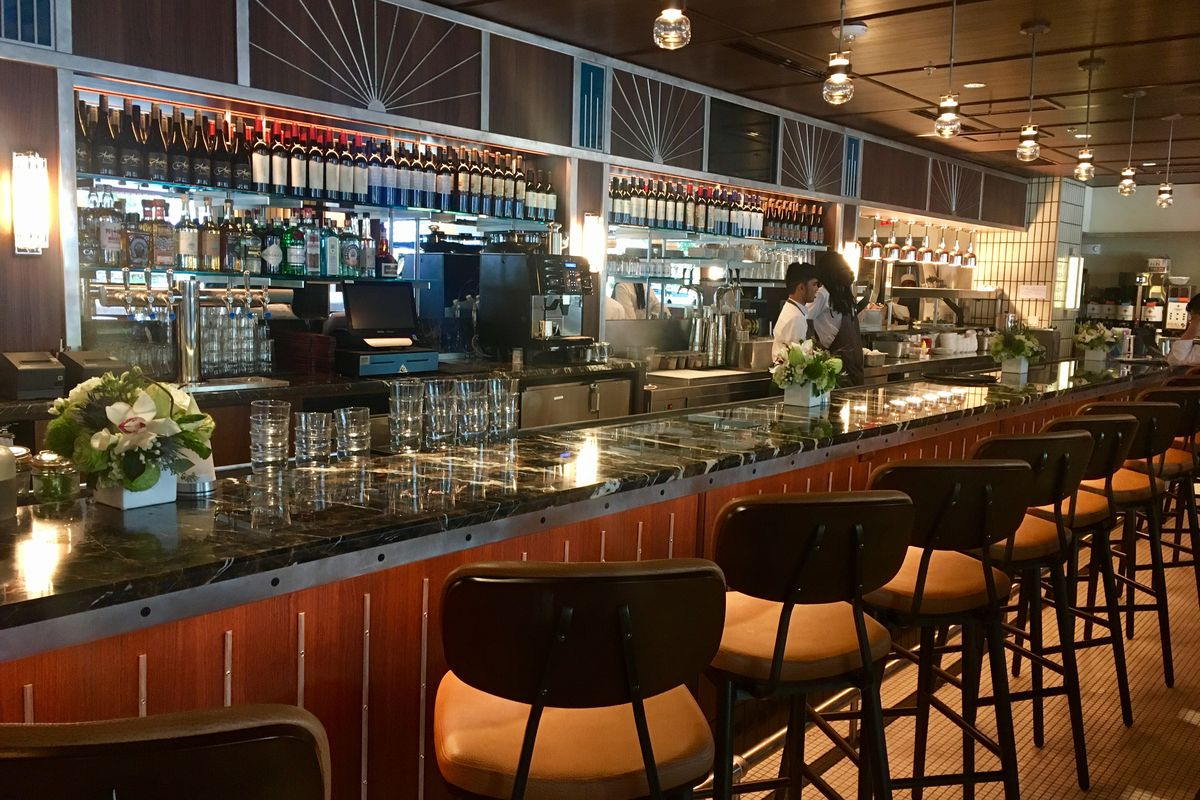 silver opens tonight with parisian cafe vibes and a giant bar
