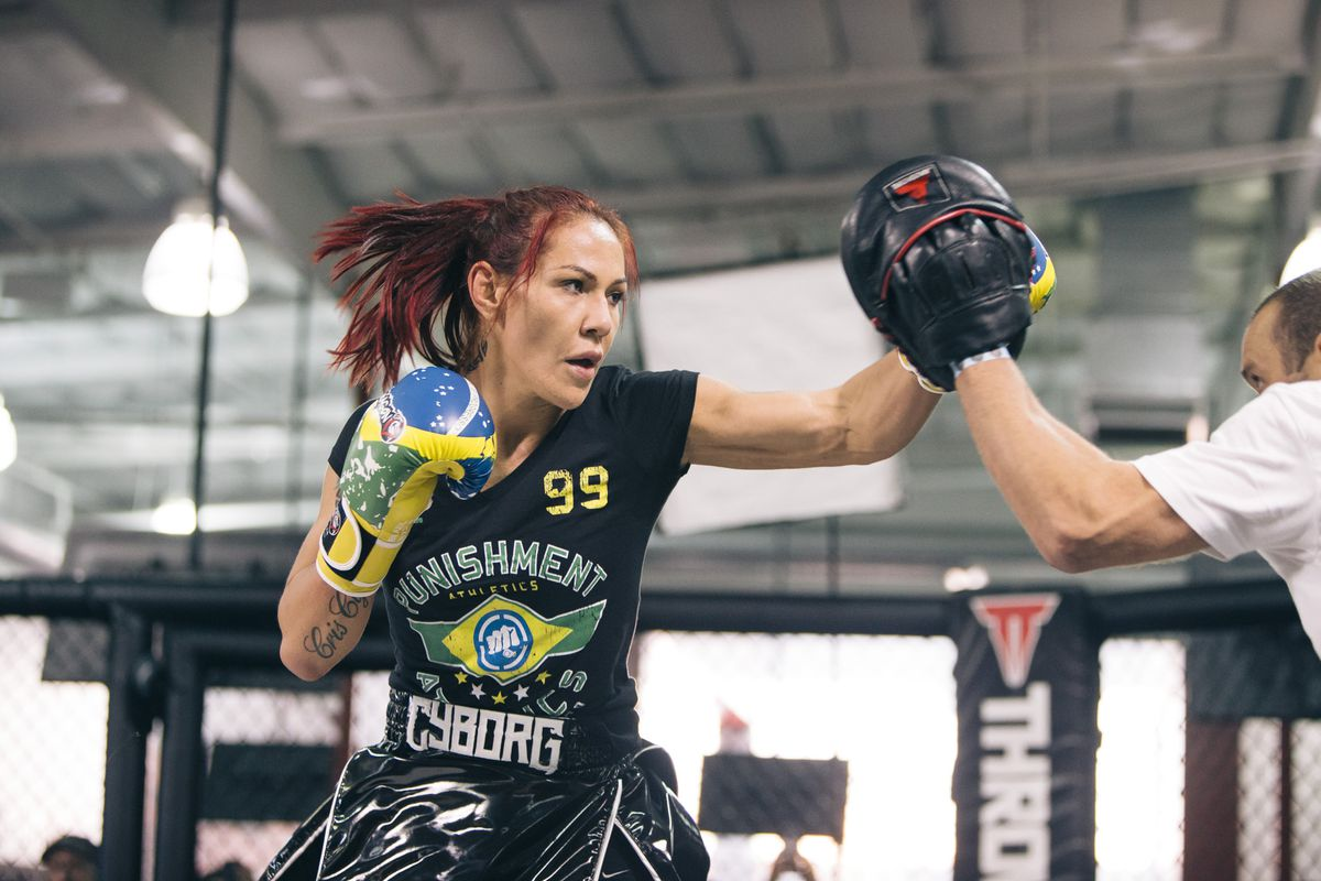 Cris Cyborg wants to test herself in the boxing ring like Conor McGregor