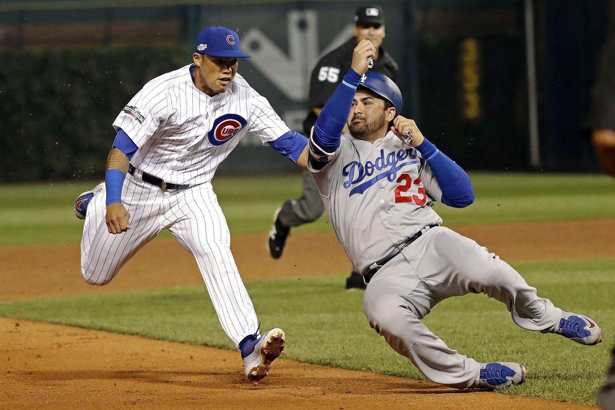 984a476a4 Rapid Recap: Dodgers Tie Up Cubs With 1-0 Win - Bleed Cubbie Blue