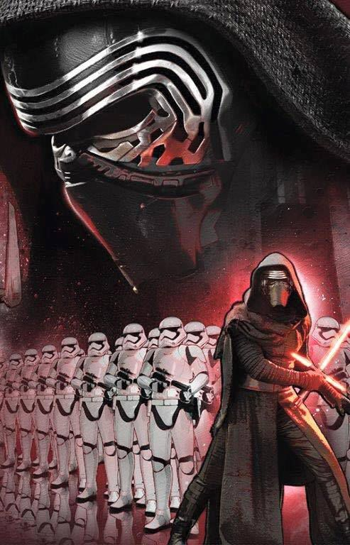 Star Wars: The Force Awakens poster/art 493