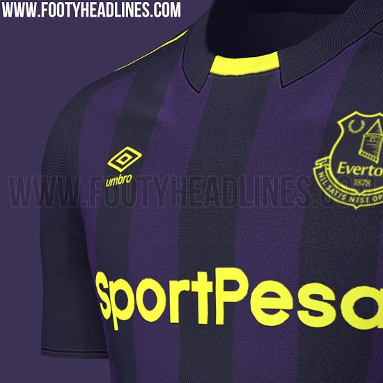 7a5207b9488 Everton scramble to release pictures of third kit after leak - Royal ...