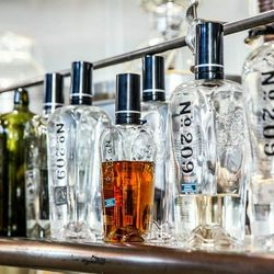 They just released two of their aged gins, pictured above, which are aged in Sauvignon Blanc or Cabernet Sauvignon barrels from the Rudd Winery.