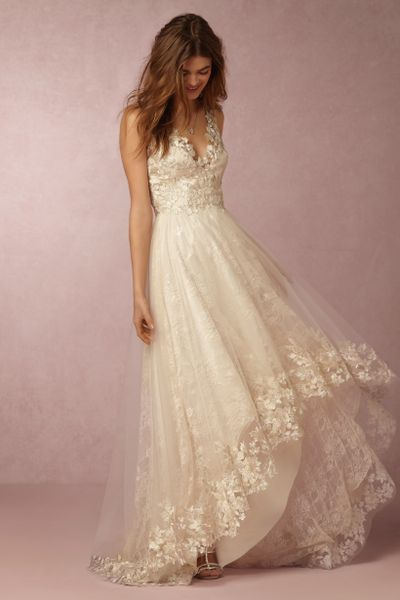 See marchesa 39 s first wedding dresses for bhldn racked for Marchesa wedding dresses prices