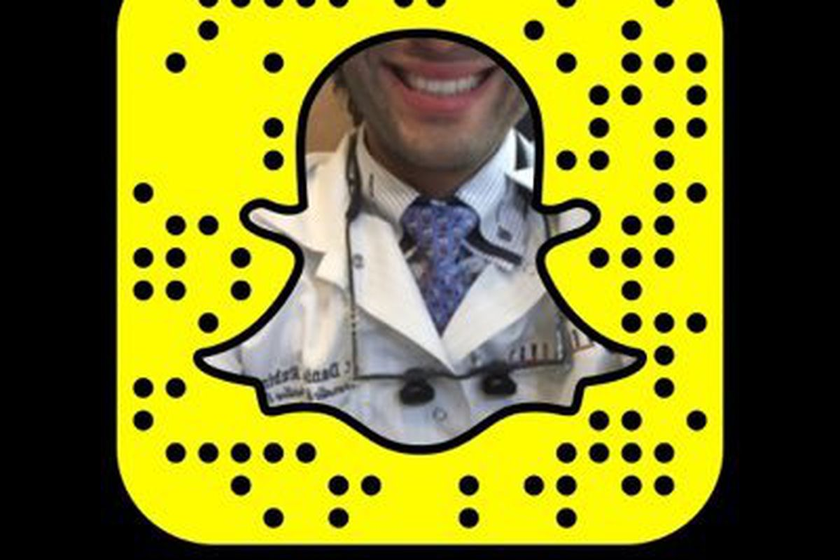 Dr  Snapchat: one dentist's journey toward social media stardom