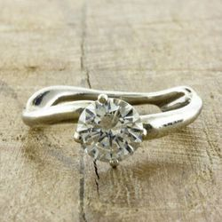 """Ken + Dana's <a href=""""http://shop.kenanddanadesign.com/collections/engagement-under-1500/products/organic-aurora-engagement-ring"""">Aurora ring</a>, $980"""
