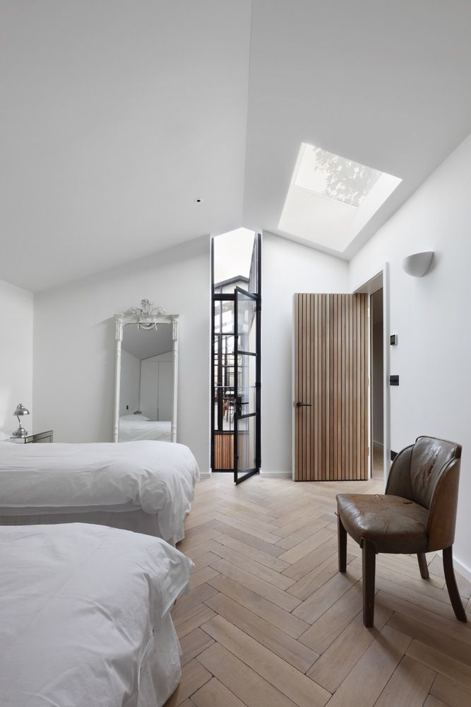 Modern home in london works magic on an awkward lot curbed
