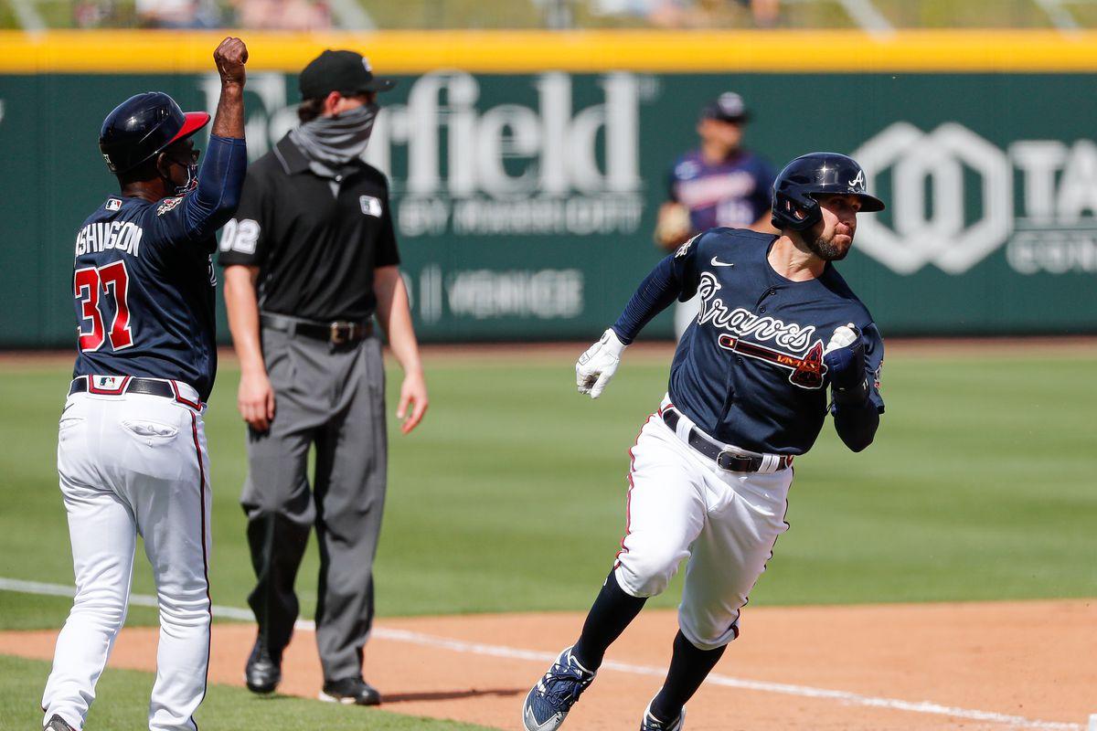 MLB: Minnesota Twins at Atlanta Braves
