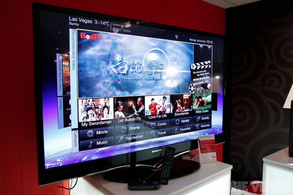 Gallery Photo: Lenovo SmartTV K91 pictures