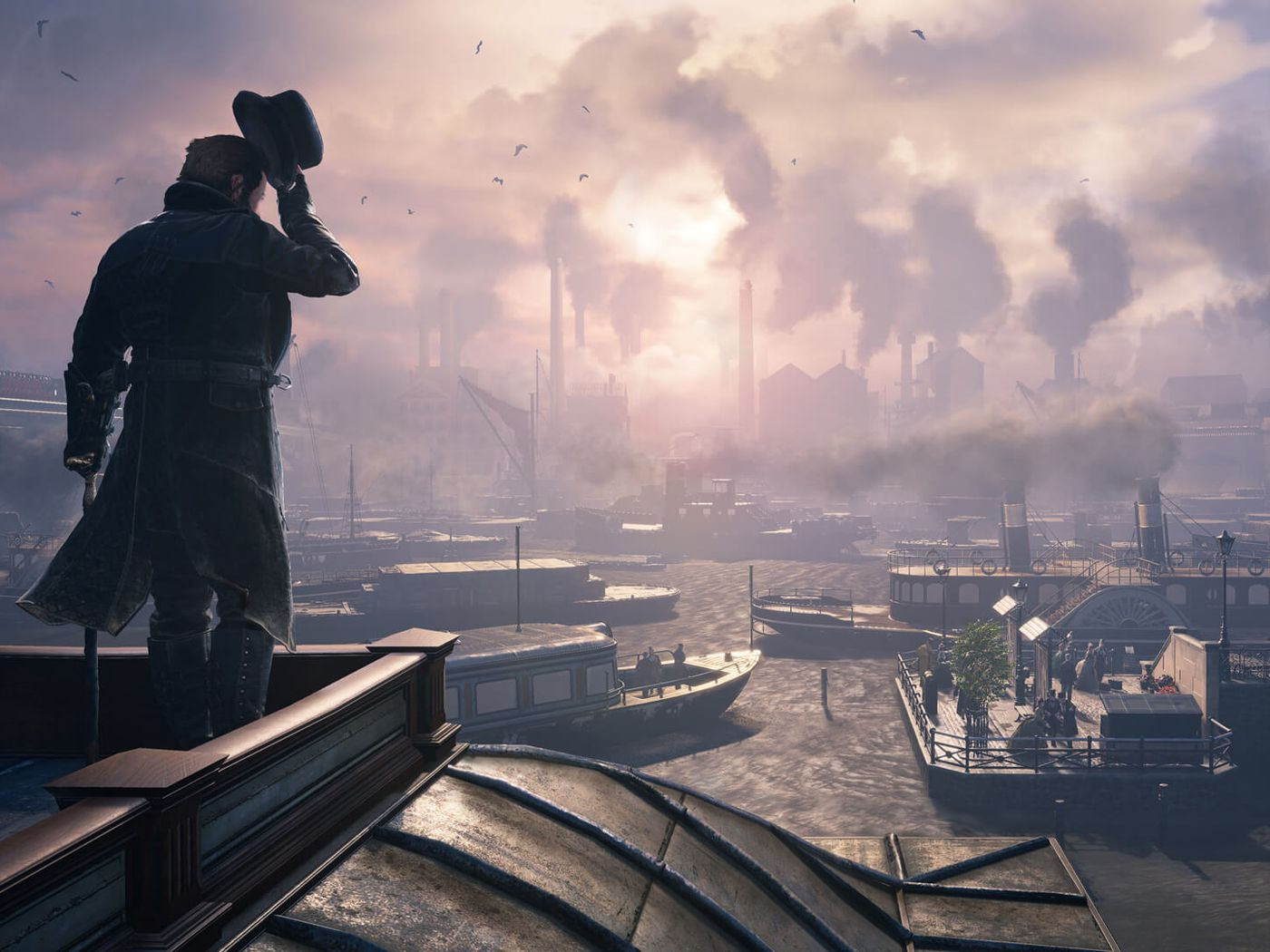 Assassin S Creed Syndicate And Eating The Crust First When Playing